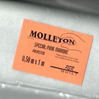 Molleton spécial manique 50 x 100 cm