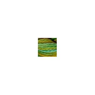 Coton perlé n°8 Oliver Twists vert jaune 50