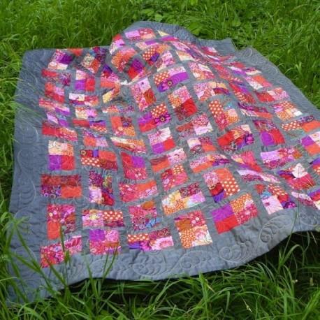 Kit patchwork avec un Jelly Roll Kaffe Fassett