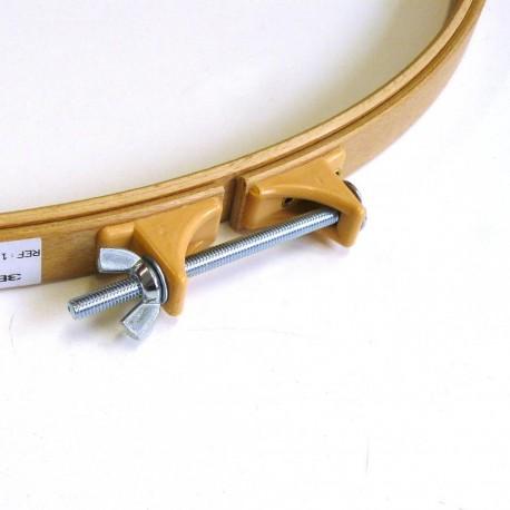 Cercle à quilter en bois 45cm