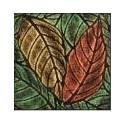 Plaque texturée feuilles de Noyer