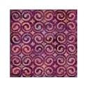 Plaque texturée spirales