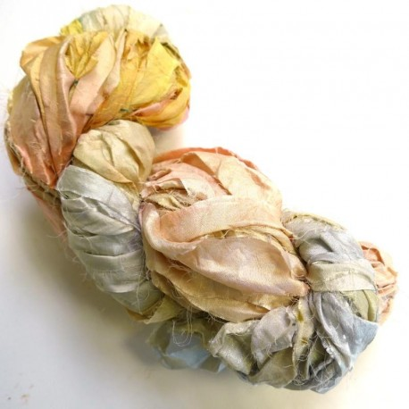Chutes de Sari indien - pastels