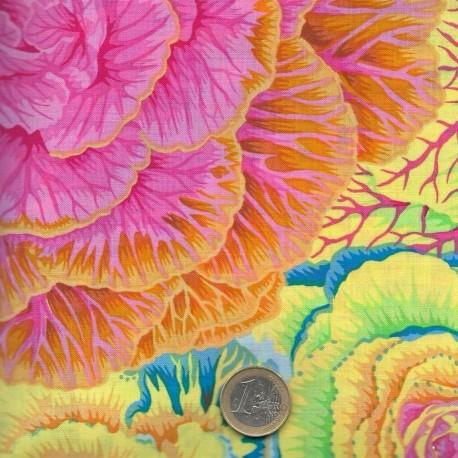 Tissu patchwork Philip Jacobs jaune BRASSICA