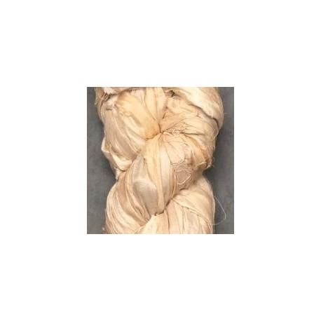 Chutes de soie indienne - écru