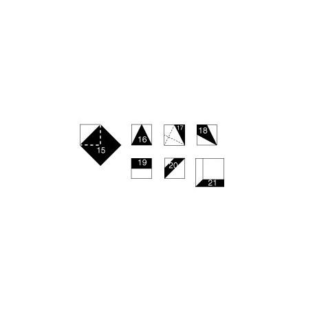 Gabarits pour patchwork de Marti Michell - Set C