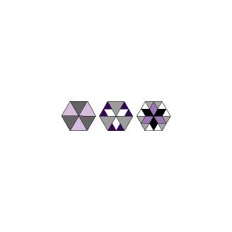 Gabarits pour patchwork de Marti Michell - Set H