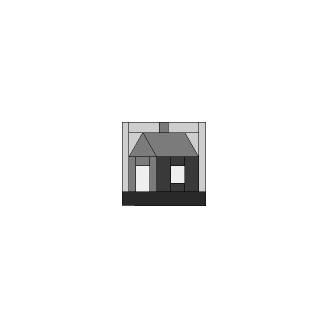 Petite maison Set J - Gabarits pour patchwork de Marti Michell