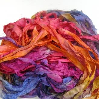 Chutes de soie indienne - Carnaval