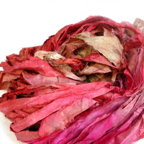 Chutes de soie indienne - Barbe à papa