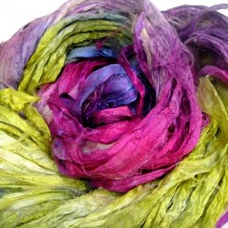Chutes de soie indienne - Libellule