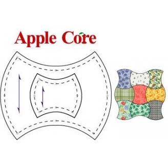 Trognon de pomme - Gabarits pour patchwork de Marti Michell