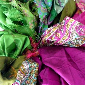 Saris recyclés - Namasté