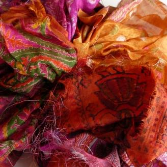 Saris recyclés - Maharaja