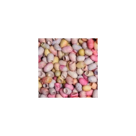Cocons de soie Dragées