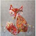Freida, la renarde en fusing - fiche de patchwork contemporain