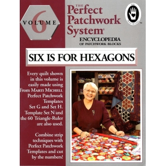Volume 6 (Hexagones) de l'Encyclopédie des blocs de patchwork (en anglais)