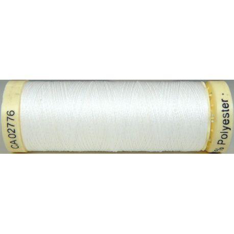 Fil à coudre 100% polyester Gutermann Blanc cassé