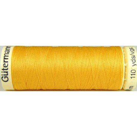 Fil à coudre 100% polyester Gutermann Bouton d'or