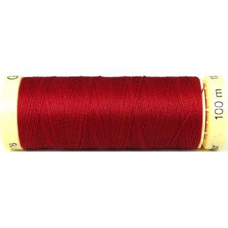 Fil à coudre 100% polyester Gutermann Rouge foncé