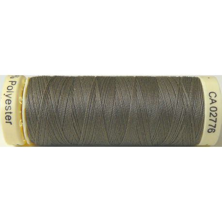 Fil à coudre 100% polyester Gutermann Taupe
