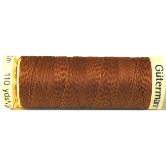 Fil à coudre 100% polyester Gutermann Caramel