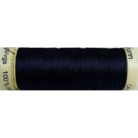 Fil à coudre 100% polyester Gutermann Marine