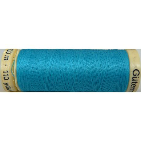 Fil à coudre 100% polyester Gutermann Turquoise