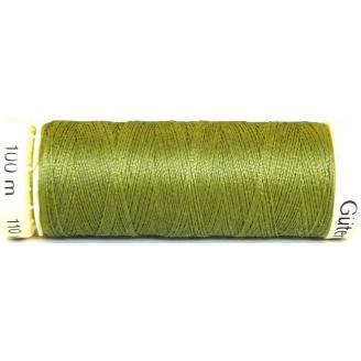 Fil à coudre 100% polyester Gutermann Vert olive