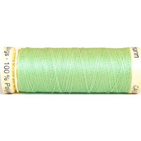 Fil à coudre 100% polyester Gutermann Vert printemps