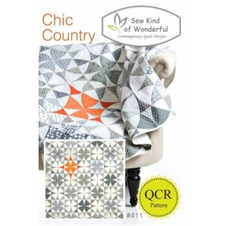 Chic country - Patron de patchwork
