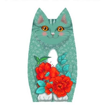 Kit de couture Chat - Bébé Plume