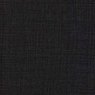Tissu imprimé noir carbone effet tissage