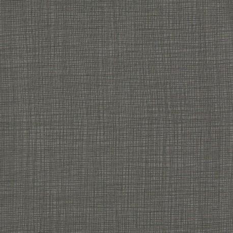 Tissu imprimé gris moyen effet tissage