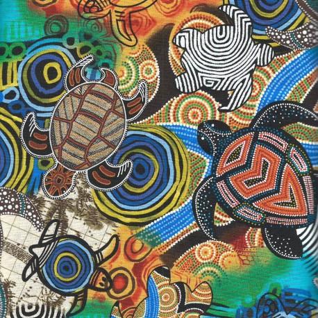 Tissu imprimé tortues marines - Sea Turtles
