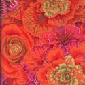 Tissu Philip Jacobs choux Brassica PJ51 Orange