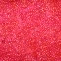 Tissu Batik rouge fraise pétillant