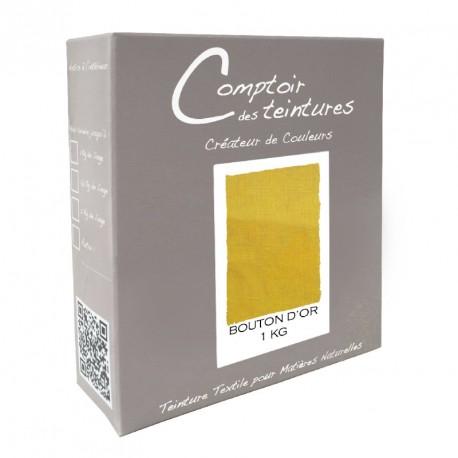 Teinture Idéal mélange pour 1 kg Bouton d'or