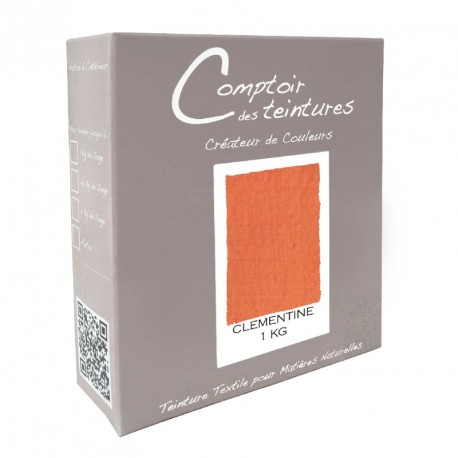 Teinture Idéal mélange pour 1 kg Clémentine