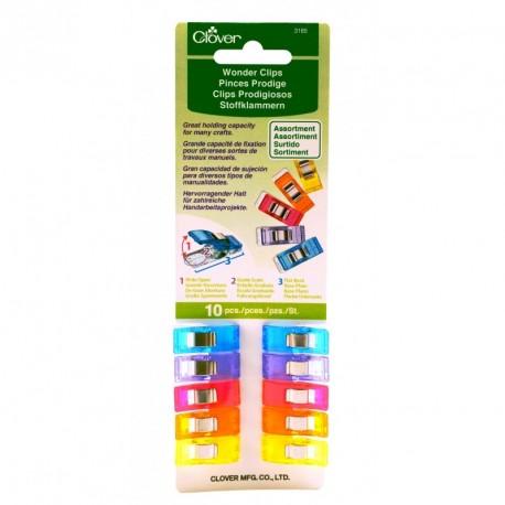Pinces Prodige de Clover multicolores