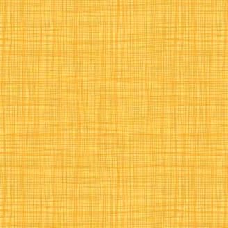 Tissu imprimé jaune d'or effet tissage