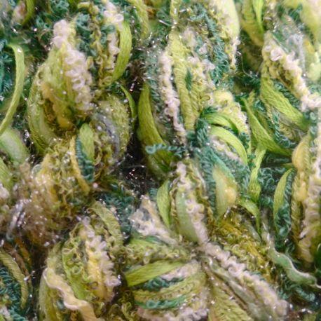Fils assortis verts