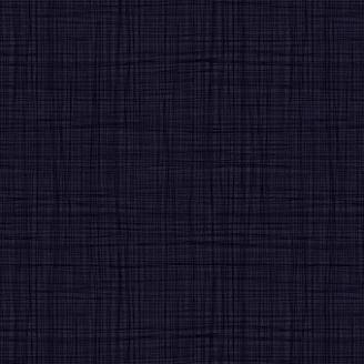 Tissu imprimé bleu indigo effet tissage