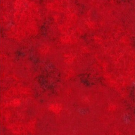 Tissu patchwork faux-uni Leather coloris rouge Bright Red