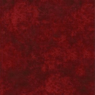 Tissu patchwork faux-uni Leather coloris rouge bourgogne Cinnamon