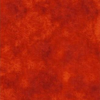 Tissu patchwork faux-uni Leather coloris vermillon Copper