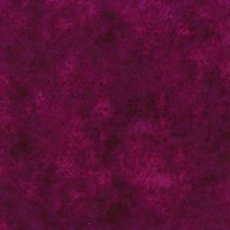 Tissu patchwork faux-uni Leather coloris violine Dark Plum