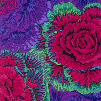 Tissu Philip Jacobs choux violets Brassica PJ51