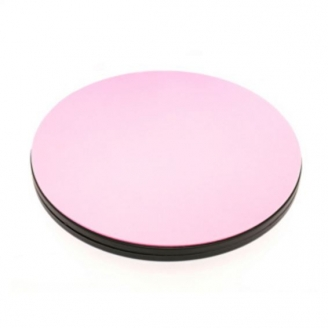 Planche rotative ronde pour la découpe des tissus - Rose_