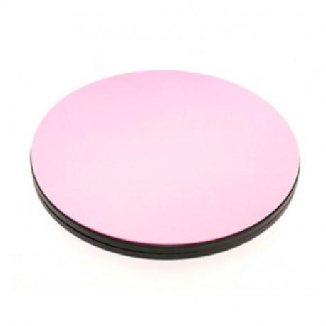 Planche rotative ronde pour la découpe des tissus - Rose